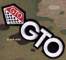 "GENERAL MOTORS GM RACING PONTIAC GTO ROYAL BOBCAT RACING TEAM 4"" iron-on LOGO"