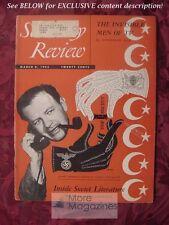 Saturday Review March 8 1952 JOSEPH MANKIEWICZ VERA ALEXANDROVA