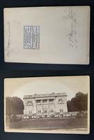 France, Versailles, petit Trianon Vintage albumen print, carte cabinet. Tirage