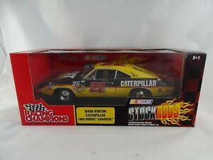 1:18 Ertl Racing Champions 1969 Dodge Charger Caterpillar #22 Ward Burton -rar