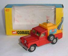 Corgi Toys No. 477, Land-Rover Breakdown Truck, in Window Box, - Mint Condition.
