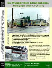 Die Straßenbahn von Wuppertal, die Regelspurlinien