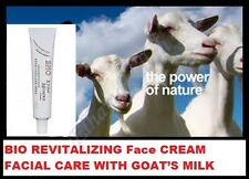 Bio Crema Viso Rivitalizzante Cura del Viso con Latte di Capra + vitamina E 45 ML