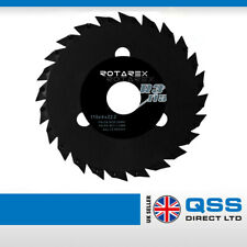 Black Mamba R3 Saw Blade Disc For Wood Tyres Plastic 115 x 22.2