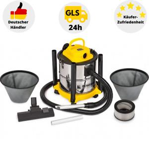 Aschesauger Kaminsauger 2in1 Elektro Staubsauger 2000W HEPA Filter Grillsauger