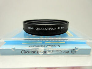 New Cokin 49mm Circular Polarizer Glass Filter Pola Filters Made in France