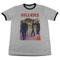 The Killers rock band indie concert music artist >C027 Men Ringer T-Shirt M L XL