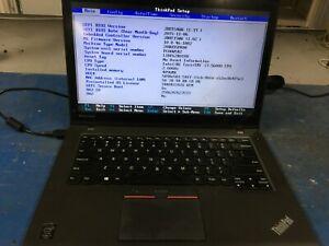 Lenovo ThinkPad T450 i7-5600U 2.6GHz 4GB RAM NO HDD/OS *Cracked/READ* | C611