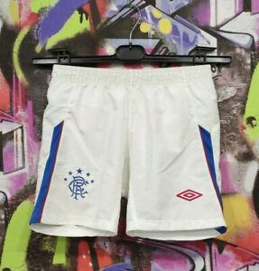 Rangers FC Scotland Football Soccer Training Shorts Umbro Youth size S