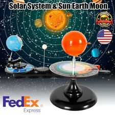 Solar System Sun Earth Moon Orbital Planetarium Model Kids Astrophysics Toys New