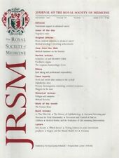JOURNAL OF THE ROYAL SOCIETY OF MEDICINE (November 1997) MAGGOTS IN THE NOSE