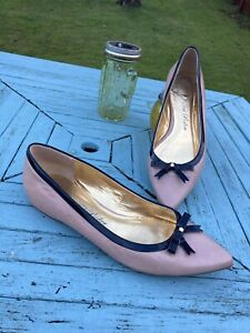 Ladies Size 5 Flat Leather Shoes With Pointed Toes From TED BAKER