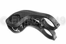 Effetto carbonio Hinged Handle Bar Mount 31.8 mm Per Garmin Edge 200/500 / 800/510 / 810