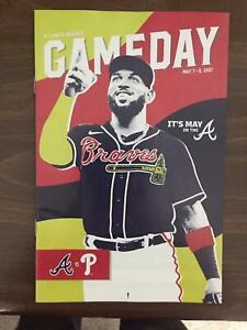 2021 Atlanta Braves May Gameday Program vs Philadelphia Phillies