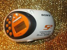 SONY Walkman SRF-M80V AM/FM Radio TV Weather Portable
