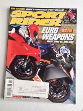 Sport Rider Magazine Ducati 1198S Vs KTM RC8R May 2010 032017NONRH