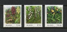 Aland 1989 Orchids SG36-38 unmounted mint set stamps