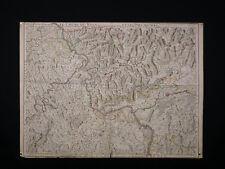 Guillaume Delisle (1675-1726) Le Cours du Rhin Ancienne Carte Géographique 1704