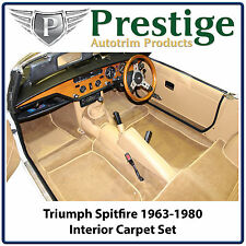 Triumph Spitfire Interior Carpet Set Carpets Floor Mats 1963-1980