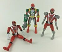 Bandai Power Rangers Lot of 3pc Operation Overdrive 2006 Red Ranger Weapon Arm