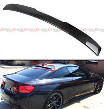 FOR 2015-2017 BMW F82 M4 COUPE REAL CARBON FIBER REAR WINDOW ROOF SPOILER WING
