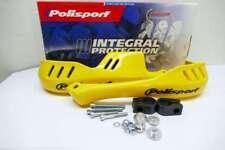POLISPORT protectores, amarillo, guardamanos, handguards Motocross Enduro HS44