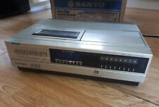 Sanyo VTC 5000 Betamax  Betacord  Vintage Video recorder. Spares/repair