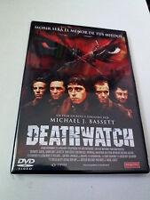 "DVD ""DEATHWATCH"" COMO NUEVO MICHAEL J. BASSETT JAMIE BELL"