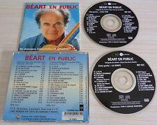 2 CD GUY BEART EN PUBLIC 36 CHANSONS IMMORTELLES ET ACTUELLES 36 TITRES 1999