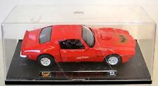 "New Ray ""1973 PONTIAC FIREBIRD TRANS AM"" Diecast 1:24 Scale w/ Display Case"