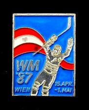 1987 World Ice Hockey Championships Wien,Austria Official Pin Badge