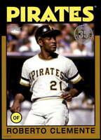 Roberto Clemente 2021 Topps 5x7 1986 Baseball 35th Anniversary Gold #86B-61 /10