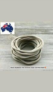 15 pcs Nude Nylon Headband Super Soft-Stretchy-Thin
