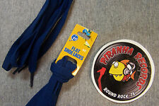 "Navy Blue Thin Flat 45"" x (3/8""-5/8"") JN Shoelaces Shoe Strings Piranha Records"