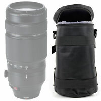 Black Lens Carry Bag for the New Fujifilm XF 100-400mm F4.5-5.6 R LM OIS WR Lens