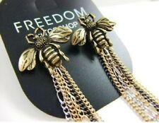 Bee Queen Bronze Tassels Earrings Us E64 Freedom by Topshop Honey Bumble
