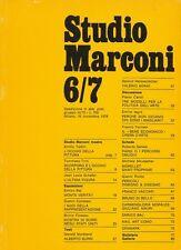 Studio Marconi. 16 novembre 1978, N. 6/7