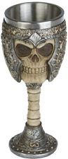 Gothic Totenkopf Trink Kelch Wein Becher Krug Skull Schädel Mystik Fantasy 306