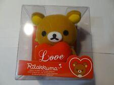 "Brown Rilakkuma Relaxed Japanese Teddy Bear Stuff Toy Plush Doll 4.5"""