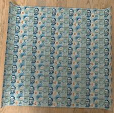 Mexico 20 pesos uncut sheet of 60 banknotes serie Z 2016 year good numbers 1111
