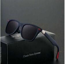 NEW DESIGN Classic Polarized Sunglasses Men Women Driving Square Frame Sun Glass