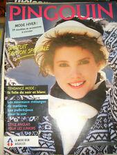 Pingouin N°65 Mode hiver 9 modèles et accessoires à tricoter Femme Junior Tricot