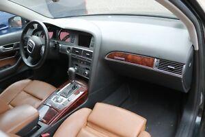 Audi A6 Avant 4F C6 Armaturenbrett Instrumententafel Cockpit Schwarz Anthrazit