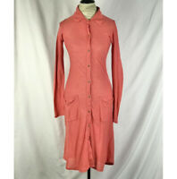 Free People Dress Sweater Shift Buttons Down Size S