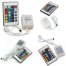 Controller RGB con TELECOMANDO IR 12/24V 6A centralina per LED e strisce RGB