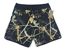 Realtree Men's Boardshorts Size 40 Swim Shorts Camo Black MSRP $45