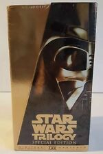 STAR WARS Trilogy Special Gold Edition 1997 VHS Boxed Set SEALED, MINT CONDITION