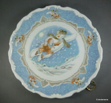 Royal Doulton Walking In The Air Snowman Plate - Free Uk Post