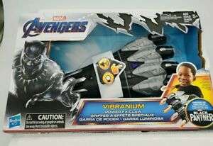 Marvel Avengers Infiniti War Black Panther Vibranium Power FX Claw Light Sound