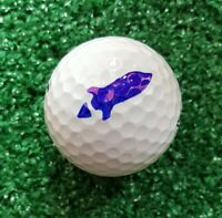 Golf Ball Marker Rocket Plus - Rocket Stencil plus Alignment Line and Circle